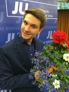 Der neue JU-Vorsitzende Tobias Hindemitt.