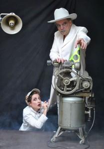 "Das N.N. Theater bringt ""Metropolis"" in den Wasserpark. Foto: Bernd Kaftan"