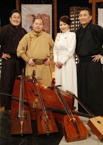 """Band """"Egschiglen"""" aus der Mongolei."""