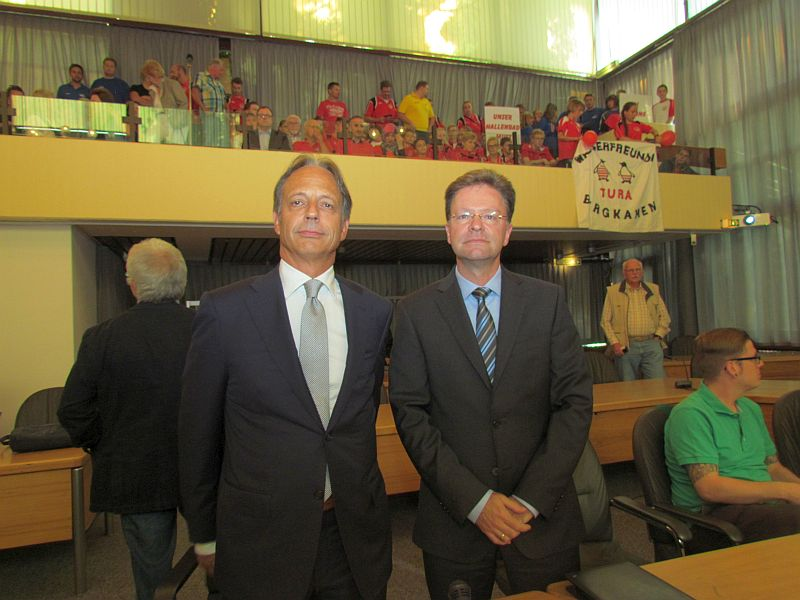 Die beiden Gutachter Dietmar Altenburg (l.) und Marco Steinert-Lieschied.