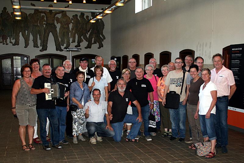 Der IGBCE/REVAG-Geschichtskreis Haus-Aden / Grimberg 3/4  besuchte jetzt  das Weltkulturerbe Rammelsberg bei Goslar.