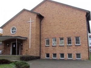 Die ehemalige Neuapostolische Kirche an der Lassallestraße in Bergkamen-Mitte.