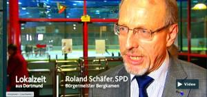 Bürgermeister Roland Schäfer stand der Lokalzeit Rede und Antwort.