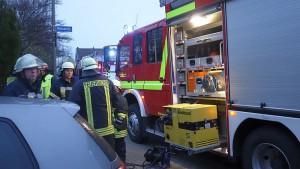 Feuerwehreinsatz am Dienstagnachmittag am Birkenweg in Weddinghofen.