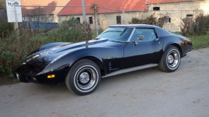 Eine Corvette-Stingray