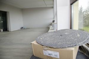 Kräftig renoviert wird in den einstigen Räumen für die Sonderausstellungen.