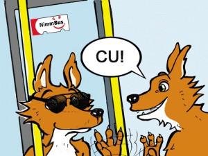 """Der """"Jederbus"""" wirbt für mehr Toleranz unter den Fahrgästen der VKU."""