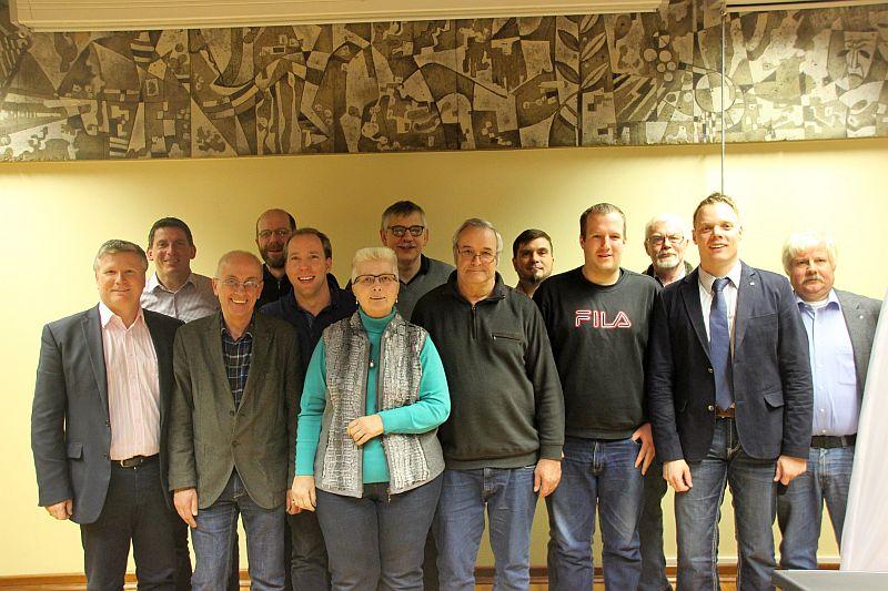 Auf dem Foto: AfA-Landesvorsitzender Armin Jahl MdL (3. von links) und AfA-Vorsitzender Kreis Unna, Jens Schmülling (2 von rechts)