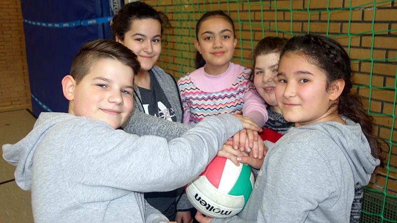 Mit Beginn des neuen Schuljahres bietet die Gesamtschule den neuen 5ern eine Sport-Profilklasse an.