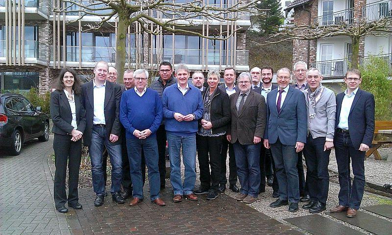 Landrat und Bürgermeister verabredeten bei der Klausur in Sundern die weitere interkommunale Zusammenarbeit. Foto: K. Schuon – Kreis Unna