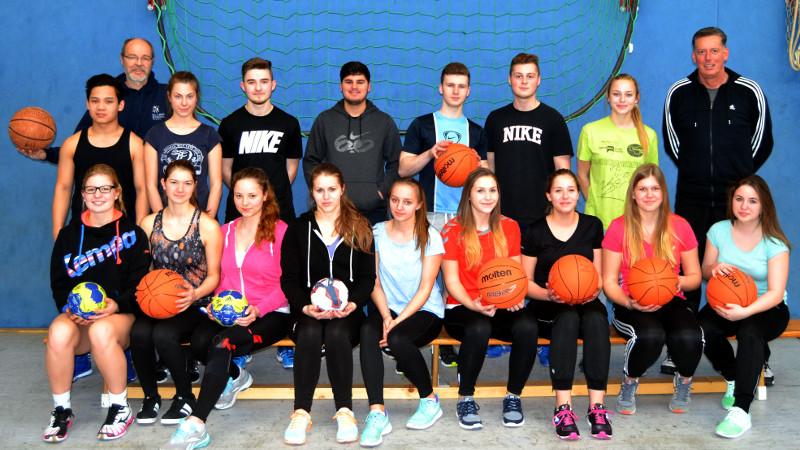 Die neuen Übungsleiterinnen und Übungsleiter der Willy-Brandt-Gesamtschule.