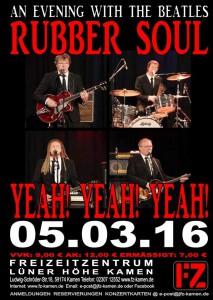 Rubber Soul live am 050316