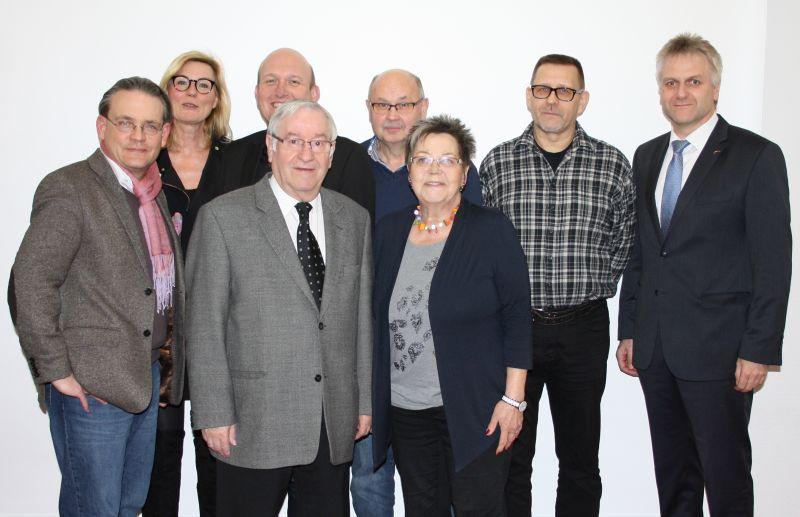 Der neue Vorstand der Freunde und Förderer des Klinikums Westfalen
