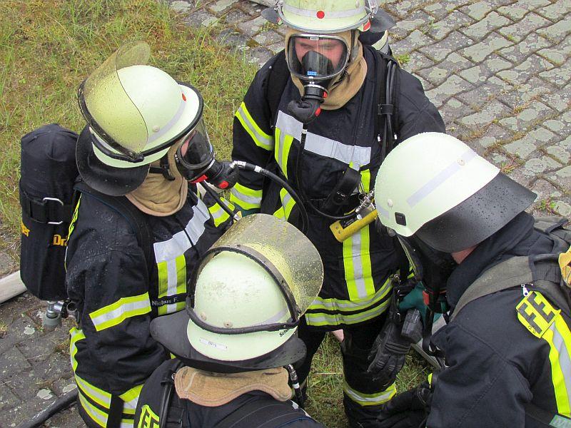 feuerwehrbung kraftwerk 26 - Feuerwehrubungen Beispiele