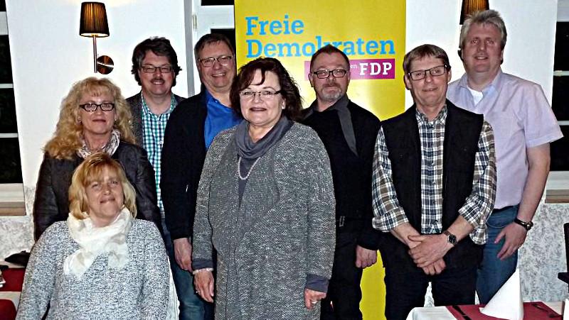Ortsvorstand FDP Bergkamen 2016