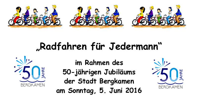Plakat Ausschnitt Radfahren für Jederman