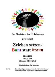 Plakat Musikabend 22.06.2016