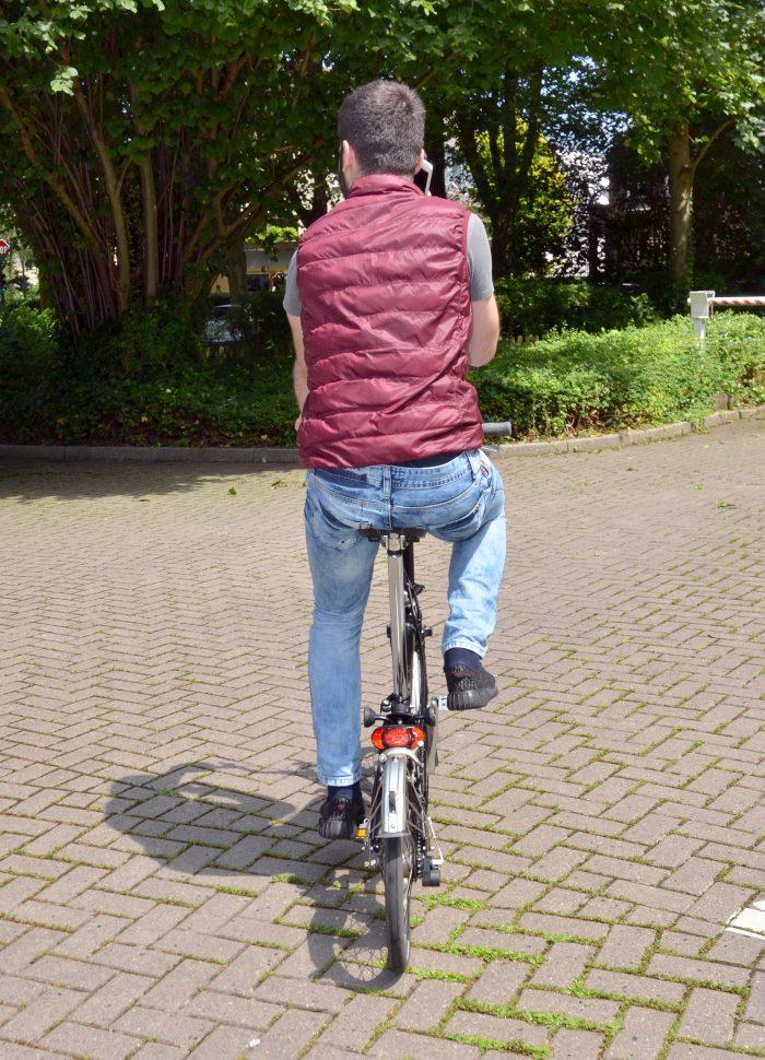 Handy und Rad