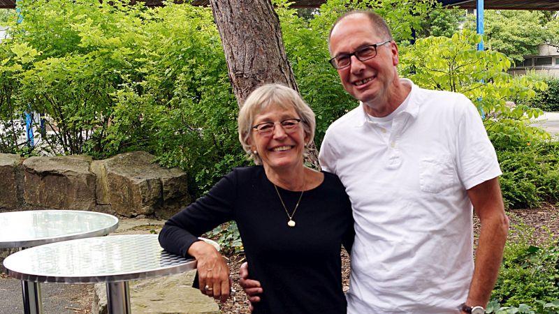 """Sagen jetzt """"Goodbye"""": Margarete Helmkamp-Kleine-Huster und Rainer Helmkamp"""