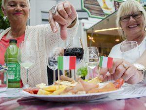 Lecker: Zugreifen bei den kulinarischen Köstlichkeiten.