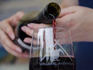 Auch optisch ein Genuss: Der Wein aus dem Land der Kiwis.