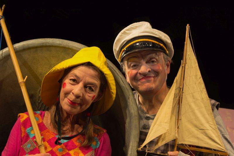 """Der Fischer, seine Frau und das Fischstäbchen"""" mit dem Theater """"Kreuz & Quer"""" aus Duisburg."""