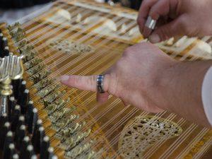 Faszinierend ist die Musik mit dem uralten iranischen Instrument. Das half am Samstag, manche Hemmung zu überwinden.