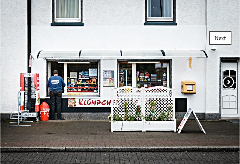 """Heike Osterschulzes """"Klüpchenbude"""" an der Weddinghofer Straße in Bergkamen-Mitte. Foto: Ruhr Tourismus GmbH/ Reinaldo Coddou"""