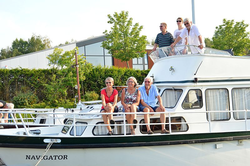 """Die """"Navigator"""" und ihre Gäste aus Bayern."""