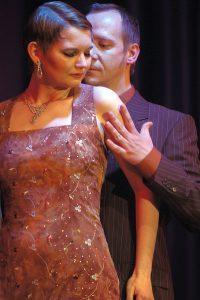 Das Profi-Tango-Paar Guido Gottlieb und Myriam Tausch.