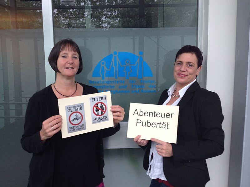 Leiten den neuen Elternkurs: Diplom Psychologin Andrea Brinkmann (r.) und Diplom Heilpädagogin Uta Schilling