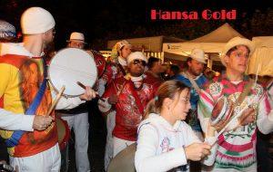 Die Marching-Band Hansa Gold aus Hamburg