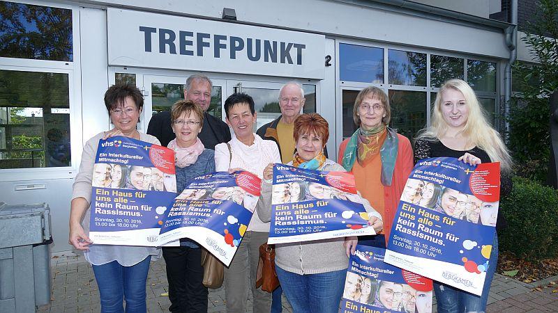 Zahlreiche Organisationen beteiligen sich am interkulturellen Mitmachtag am 30. Oktober im Treffpunkt an der Lessingstraße.
