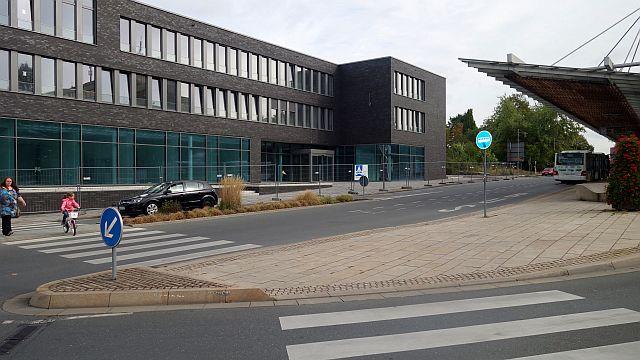 Die neue Hauptstelle der Sparkasse wird am 14. November um 8.30 Uhr eröffnet.