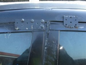 Der kontrollierte Mercedes wies zahlreiche Mängel auf.