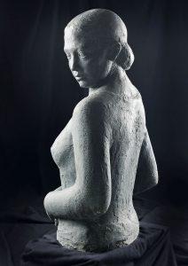 Raimondo Puccinelli, Frauenoberkörper, 1930er Jahre, Bronze