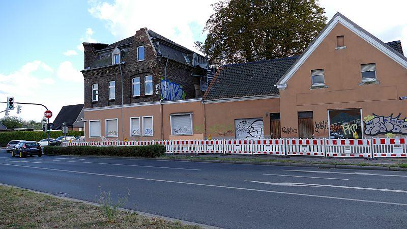Der Abrissantrag liegt im Rathaus vor: das Haus Jockenhöfer an der Werner Straße in Rünthe.