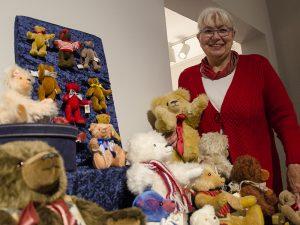 Eine echte Bären-Leidenschaft praktiziert Susanne Zarske seit 25 Jahren.