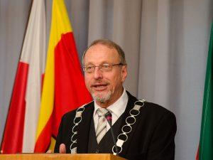 Bürgermeister Roland Schäfer hielt seinen traditionellen Rück- und Ausblick.