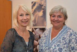 Beraten Frauen in Konfliktlagen: Jutta Damaschke (links) und Jutta Hermann. Foto: Birgit Kalle - Kreis Unna