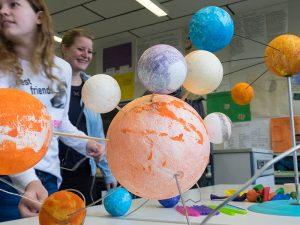 Planetenwelten galt es zu entdecken.