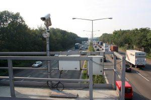 Webcam an der A1. Foto: Straßen.NRW