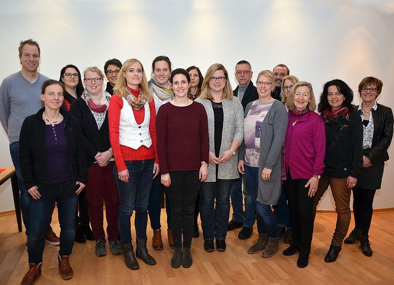 Herzlich willkommen geheißen wurden neue Grundschul-Lehrerinnen und Lehrer bei einer Veranstaltung im Kreishaus. Foto: Birgit Kalle - Kreis Unna
