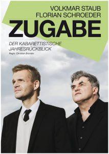 """""""Zugabe 2017 – Der kabarettistische Jahresrückblick"""" nahezu ausverkauft"""