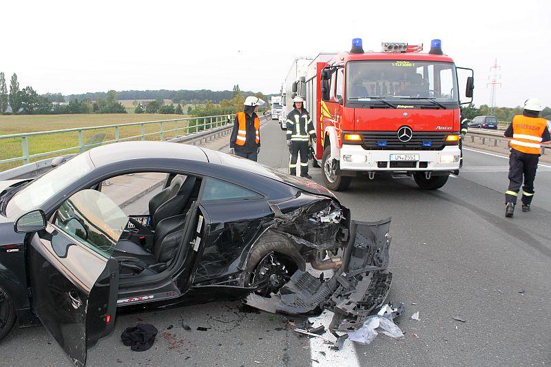 Verkehrsunfall A1 Heute